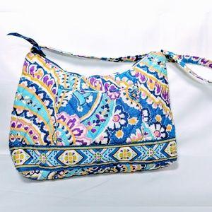 Blue small Vera Bradley purse retired capri blue